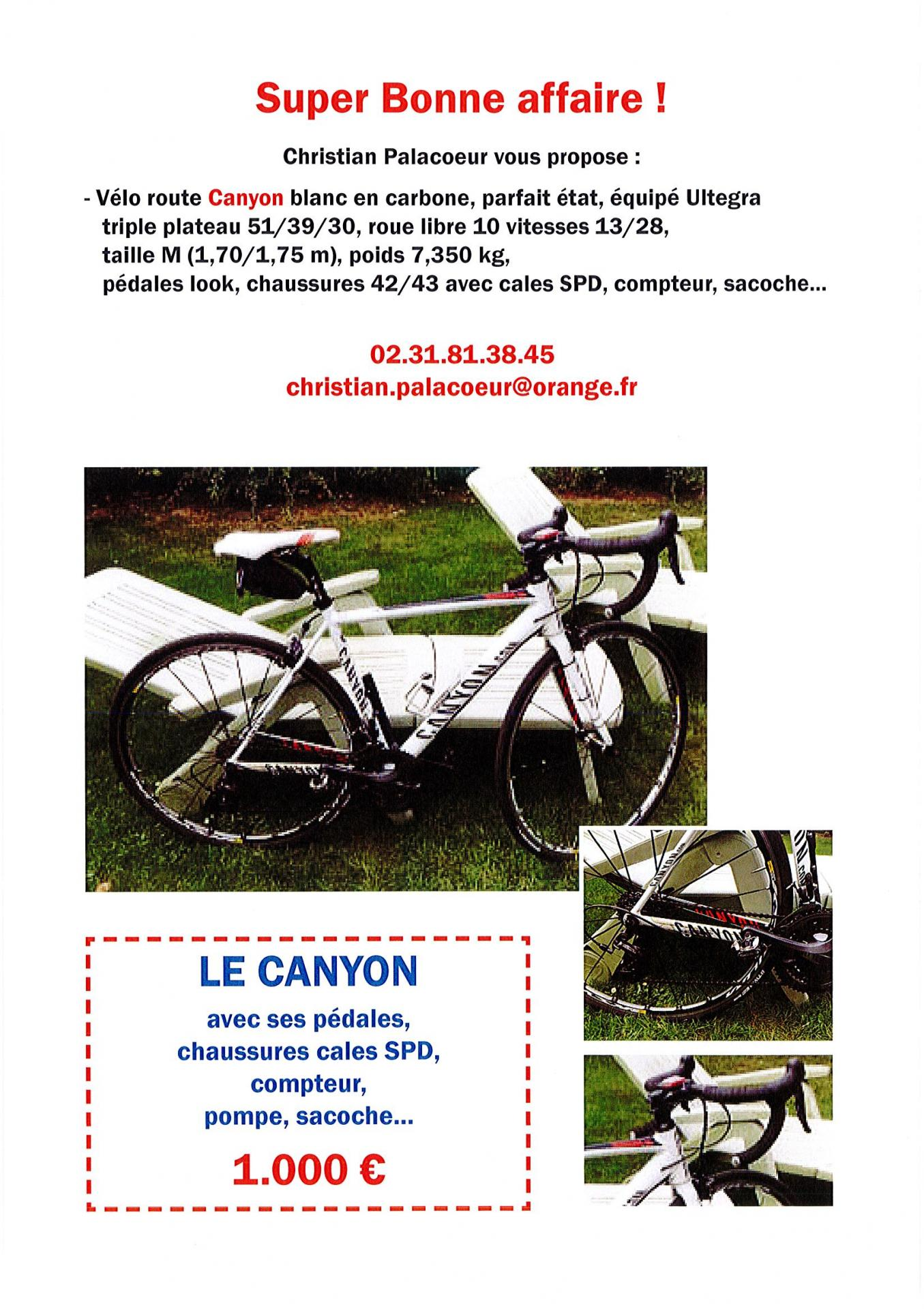 Annonce velo